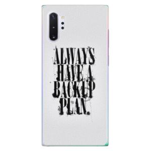 Plastové pouzdro iSaprio Backup Plan na mobil Samsung Galaxy Note 10 Plus