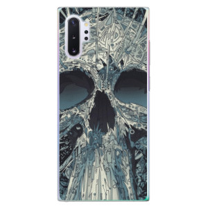 Plastové pouzdro iSaprio Abstract Skull na mobil Samsung Galaxy Note 10 Plus