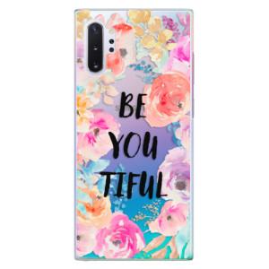 Plastové pouzdro iSaprio BeYouTiful na mobil Samsung Galaxy Note 10 Plus