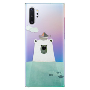 Plastové pouzdro iSaprio Bear With Boat na mobil Samsung Galaxy Note 10 Plus