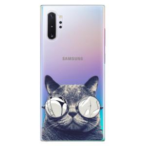 Plastové pouzdro iSaprio Crazy Cat 01 na mobil Samsung Galaxy Note 10 Plus