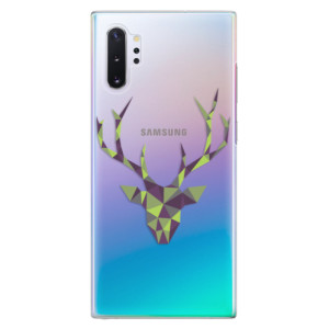 Plastové pouzdro iSaprio Deer Green na mobil Samsung Galaxy Note 10 Plus