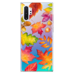 Plastové pouzdro iSaprio Autumn Leaves 01 na mobil Samsung Galaxy Note 10 Plus