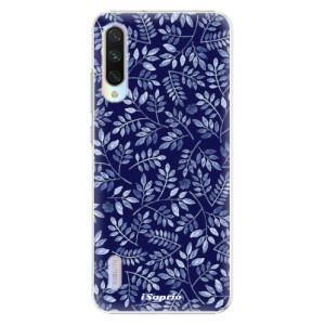 Plastové pouzdro iSaprio Blue Leaves 05 na mobil Xiaomi Mi A3