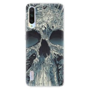 Plastové pouzdro iSaprio Abstract Skull na mobil Xiaomi Mi A3
