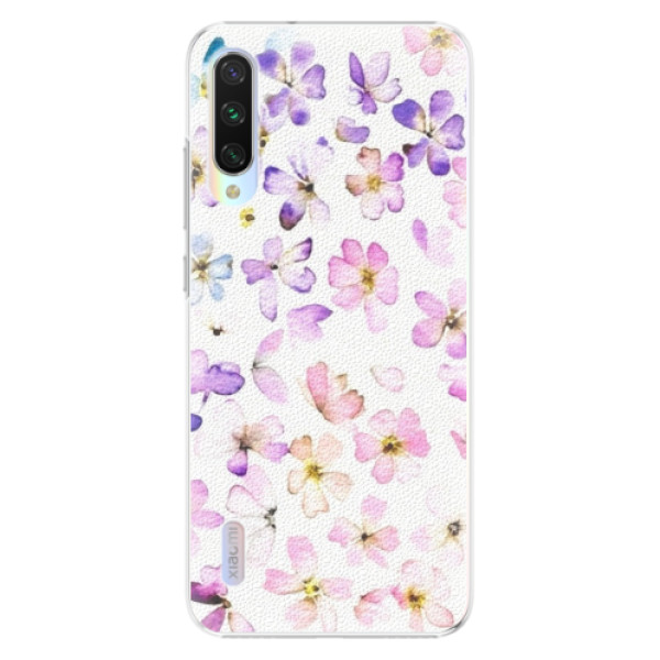 Plastové pouzdro iSaprio Wildflowers na mobil Xiaomi Mi A3 (Plastový obal, kryt, pouzdro iSaprio Wildflowers na mobil Xiaomi Mi A3)