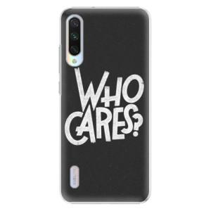 Plastové pouzdro iSaprio Who Cares na mobil Xiaomi Mi A3