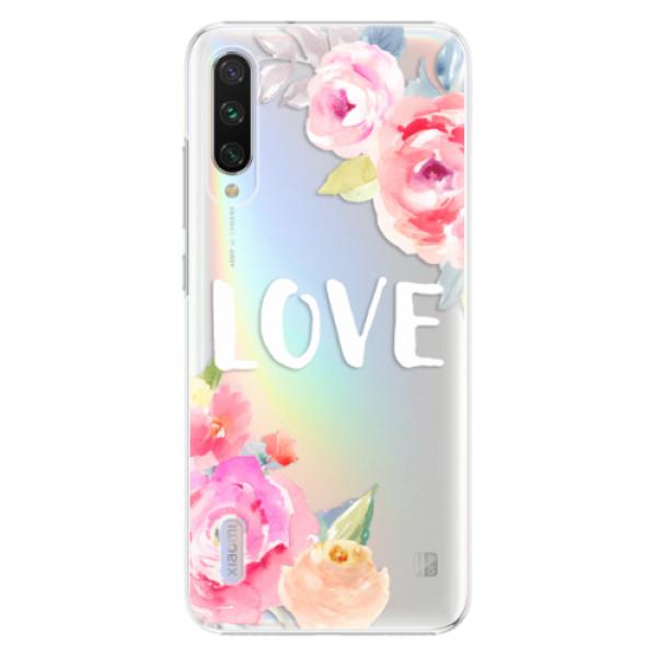 Plastové pouzdro iSaprio Love na mobil Xiaomi Mi A3 (Plastový obal, kryt, pouzdro iSaprio Love na mobil Xiaomi Mi A3)