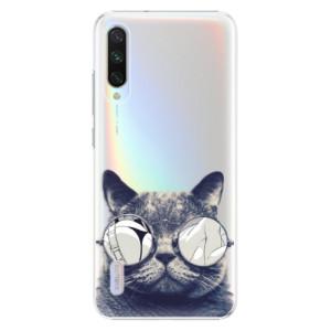 Plastové pouzdro iSaprio Crazy Cat 01 na mobil Xiaomi Mi A3