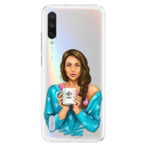 Plastové pouzdro iSaprio Coffee Now Brunette na mobil Xiaomi Mi A3