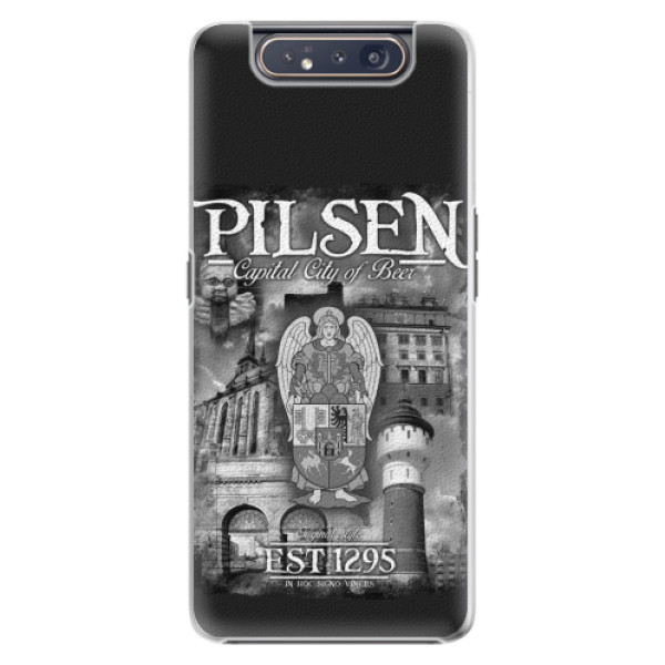 Plastový kryt iSaprio - Pilsen Beer City pro mobil Samsung Galaxy A80