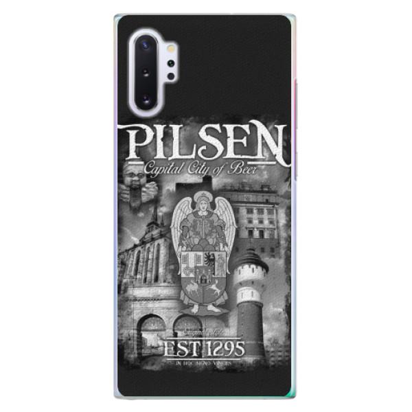 Plastový kryt iSaprio - Pilsen Beer City pro mobil Samsung Galaxy Note 10 Plus