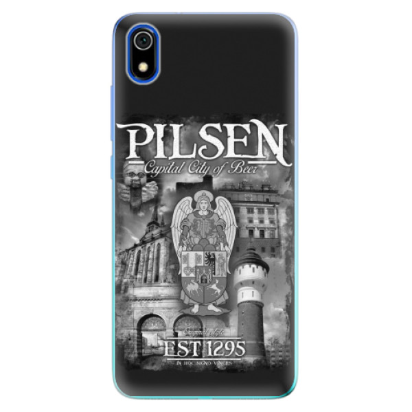 Silikonový kryt iSaprio - Pilsen Beer City pro mobil Xiaomi Redmi 7A