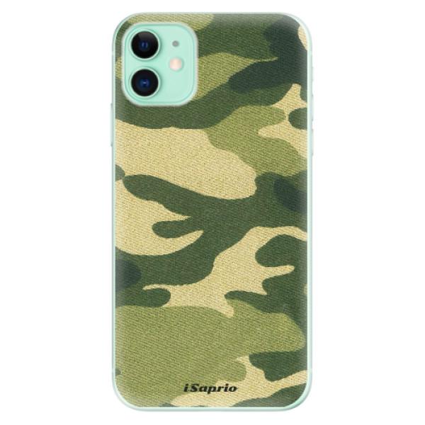 Silikonové odolné pouzdro iSaprio - Green Camuflage 01 na mobil Apple iPhone 11