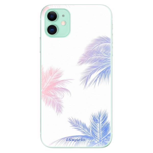 Silikonové odolné pouzdro iSaprio - Digital Palms 10 na mobil Apple iPhone 11