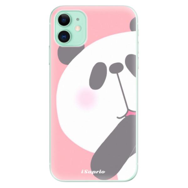 Silikonové odolné pouzdro iSaprio - Panda 01 na mobil Apple iPhone 11