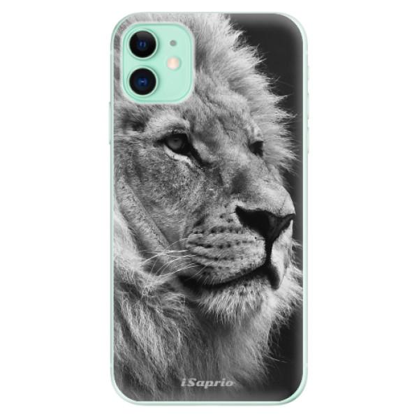 Silikonové odolné pouzdro iSaprio - Lion 10 na mobil Apple iPhone 11