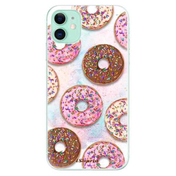 Silikonové odolné pouzdro iSaprio - Donuts 11 na mobil Apple iPhone 11