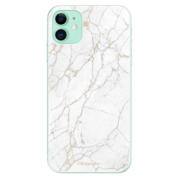 Silikonové odolné pouzdro iSaprio - GoldMarble 13 na mobil Apple iPhone 11