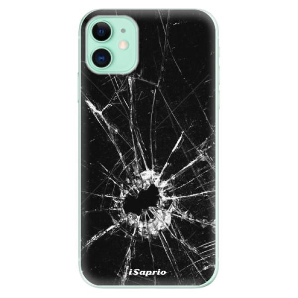 Silikonové odolné pouzdro iSaprio - Broken Glass 10 na mobil Apple iPhone 11