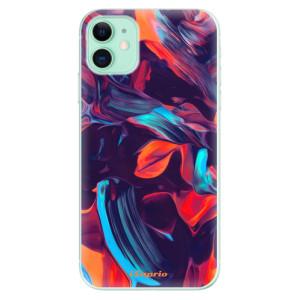 Silikonové odolné pouzdro iSaprio - Color Marble 19 na mobil Apple iPhone 11