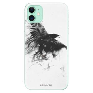 Silikonové odolné pouzdro iSaprio - Dark Bird 01 na mobil Apple iPhone 11