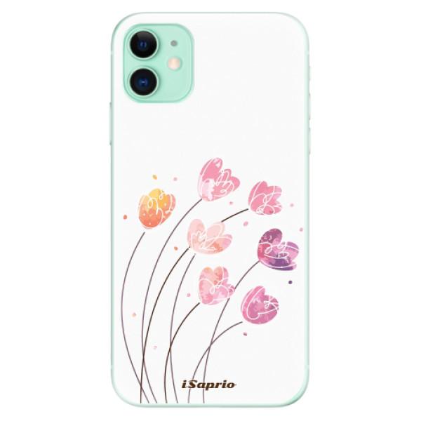 Silikonové odolné pouzdro iSaprio - Flowers 14 na mobil Apple iPhone 11