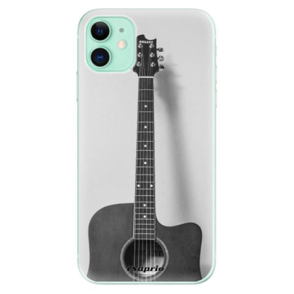 Silikonové odolné pouzdro iSaprio - Guitar 01 na mobil Apple iPhone 11
