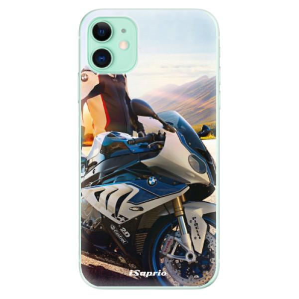 Silikonové odolné pouzdro iSaprio - Motorcycle 10 na mobil Apple iPhone 11