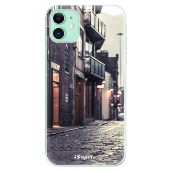Silikonové odolné pouzdro iSaprio - Old Street 01 na mobil Apple iPhone 11