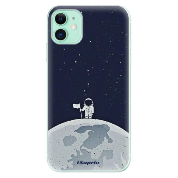 Silikonové odolné pouzdro iSaprio - On The Moon 10 na mobil Apple iPhone 11