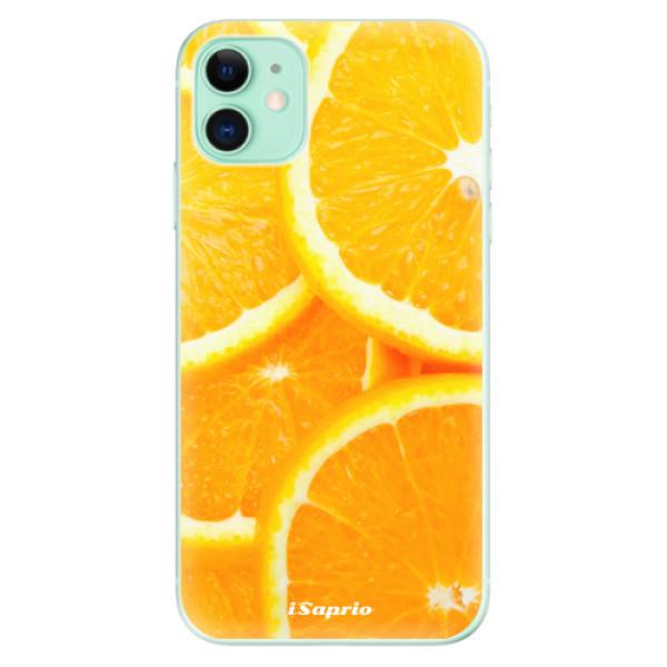 Silikonové odolné pouzdro iSaprio - Orange 10 na mobil Apple iPhone 11