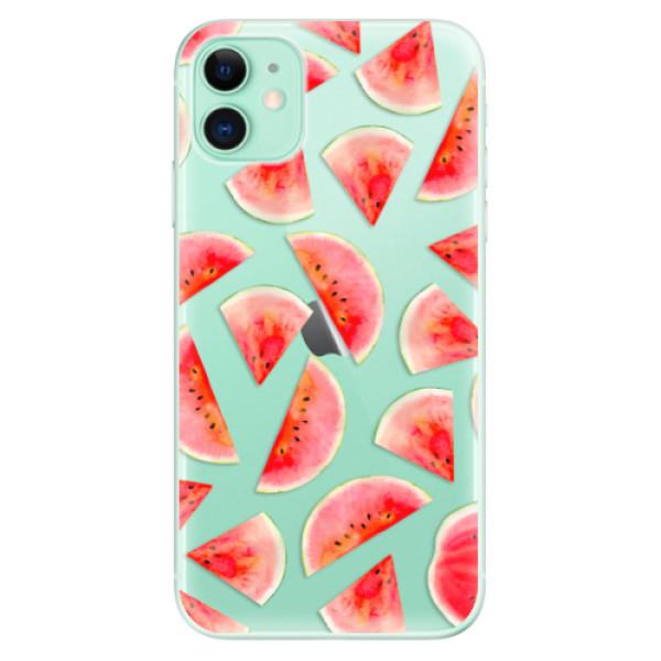 Silikonové odolné pouzdro iSaprio - Melon Pattern 02 na mobil Apple iPhone 11