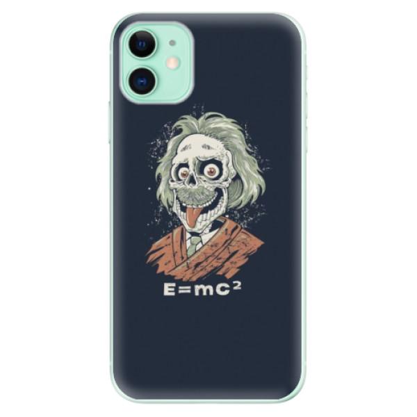 Silikonové odolné pouzdro iSaprio - Einstein 01 na mobil Apple iPhone 11
