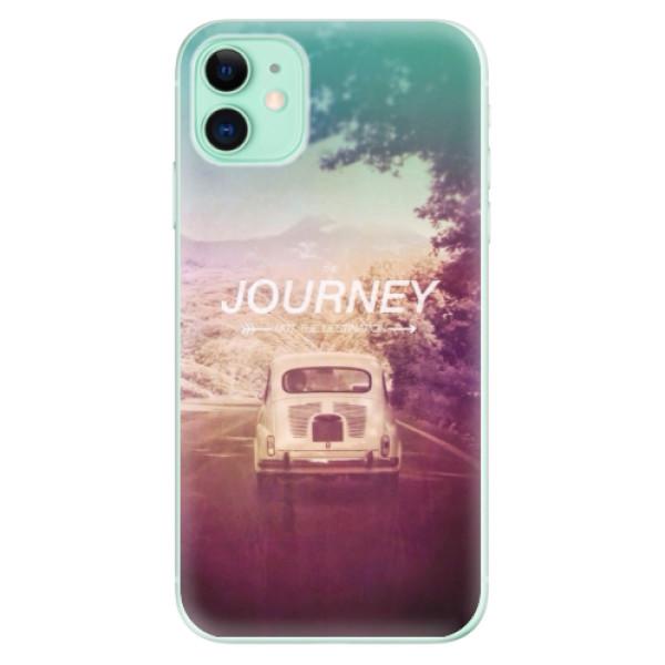 Silikonové odolné pouzdro iSaprio - Journey na mobil Apple iPhone 11
