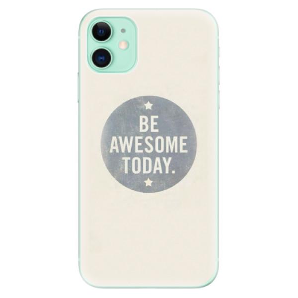 Silikonové odolné pouzdro iSaprio - Awesome 02 na mobil Apple iPhone 11