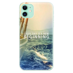Silikonové odolné pouzdro iSaprio - Beginning na mobil Apple iPhone 11