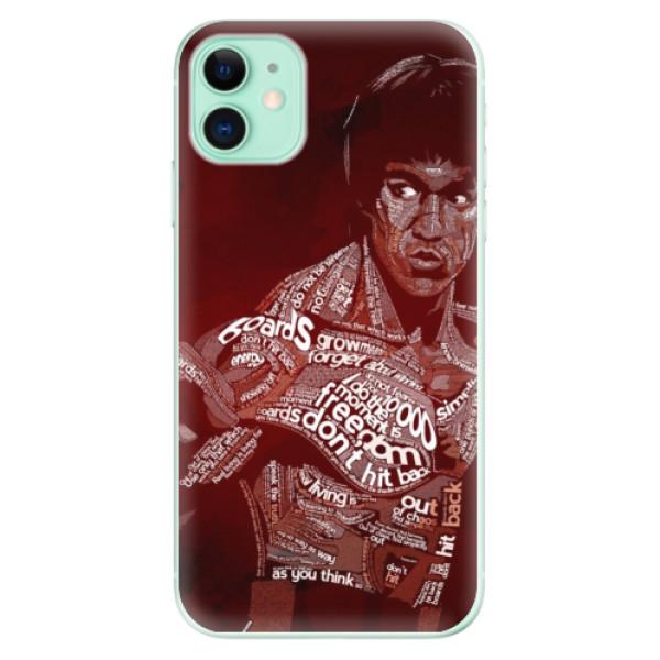 Silikonové odolné pouzdro iSaprio - Bruce Lee na mobil Apple iPhone 11
