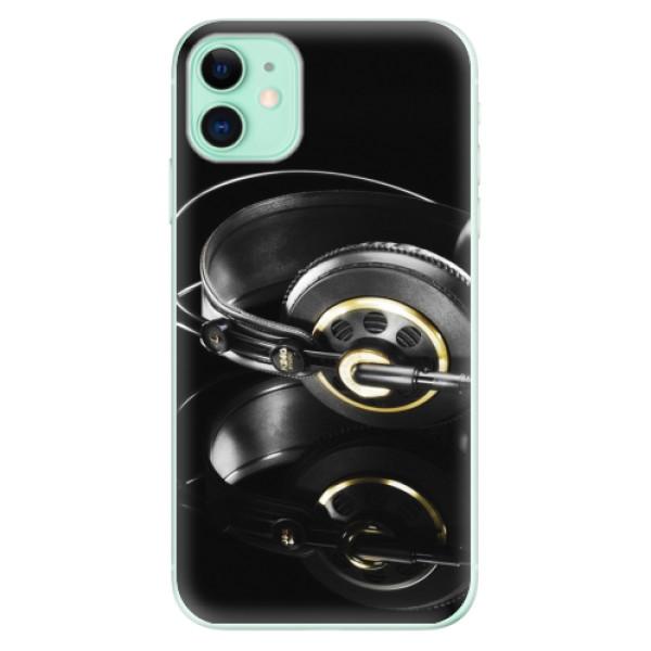 Silikonové odolné pouzdro iSaprio - Headphones 02 na mobil Apple iPhone 11