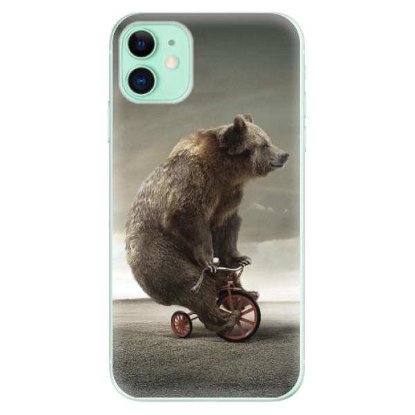 Silikonové odolné pouzdro iSaprio - Bear 01 na mobil Apple iPhone 11