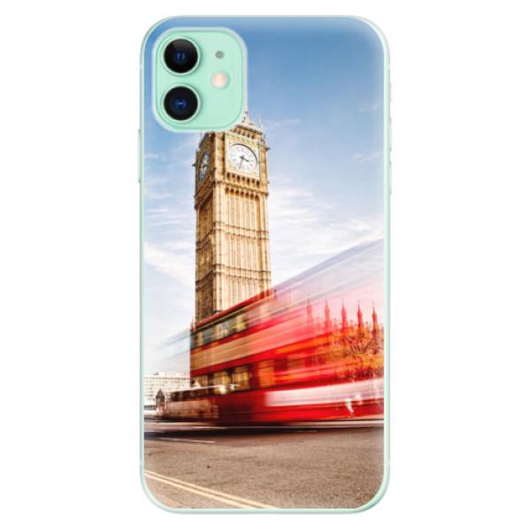 Silikonové odolné pouzdro iSaprio - London 01 na mobil Apple iPhone 11