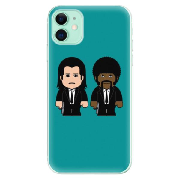 Silikonové odolné pouzdro iSaprio - Pulp Fiction na mobil Apple iPhone 11