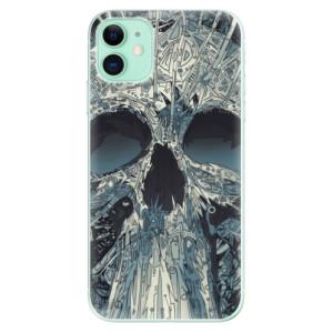 Silikonové odolné pouzdro iSaprio - Abstract Skull na mobil Apple iPhone 11