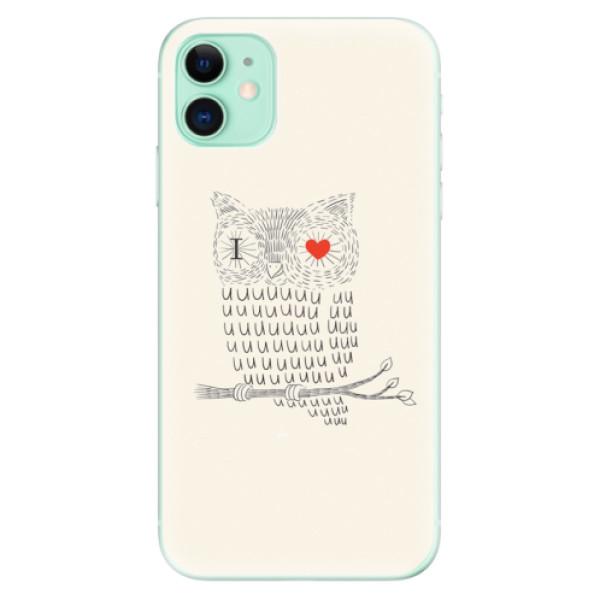 Silikonové odolné pouzdro iSaprio - I Love You 01 na mobil Apple iPhone 11