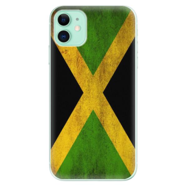 Silikonové odolné pouzdro iSaprio - Flag of Jamaica na mobil Apple iPhone 11