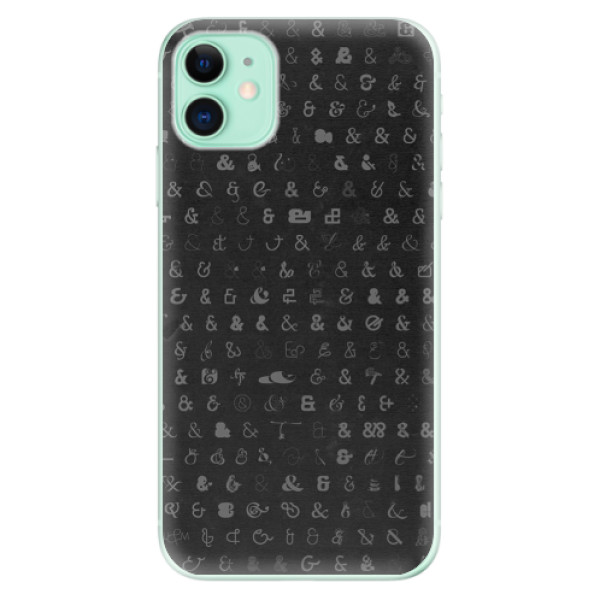 Silikonové odolné pouzdro iSaprio - Ampersand 01 na mobil Apple iPhone 11