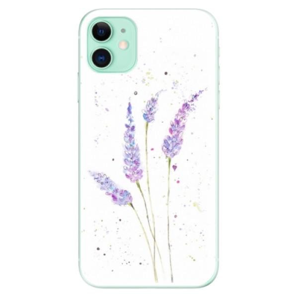 Silikonové odolné pouzdro iSaprio - Lavender na mobil Apple iPhone 11