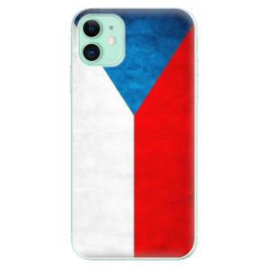 Silikonové odolné pouzdro iSaprio - Czech Flag na mobil Apple iPhone 11