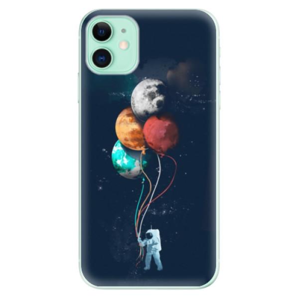 Silikonové odolné pouzdro iSaprio - Balloons 02 na mobil Apple iPhone 11
