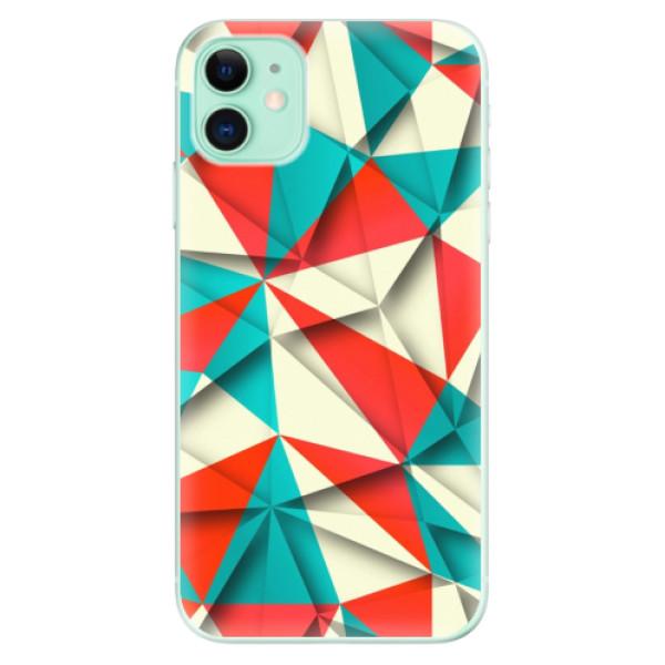Silikonové odolné pouzdro iSaprio - Origami Triangles na mobil Apple iPhone 11